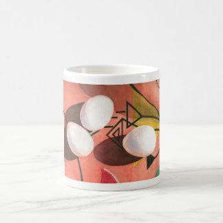 Three Eggs Deco 11oz. Coffee Mug