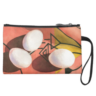 """Three Eggs Deco"" Cosmetic Bag"