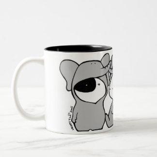 """Three """"Elephants"""" Mug"""