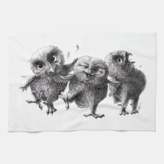 Three emergency Angry Birds Towel
