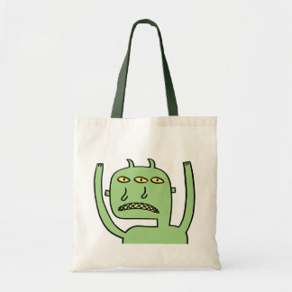 Three Eye Monster Tote Bag