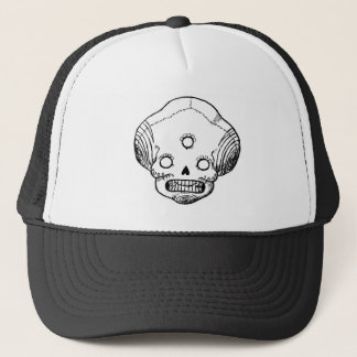 Three Eyed Skull Trucker Hat