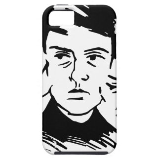 three faces iPhone 5 cover