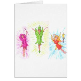 Three Fairies Card
