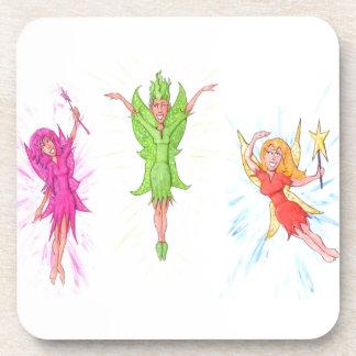 Three Fairies Coaster