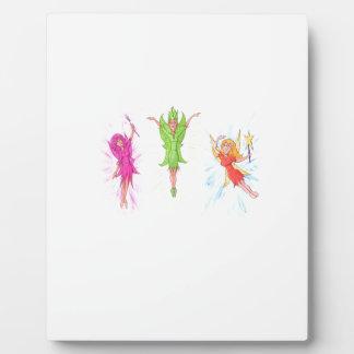 Three Fairies Plaque