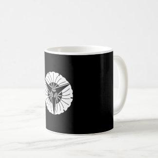 Three fan ginkgoes coffee mug