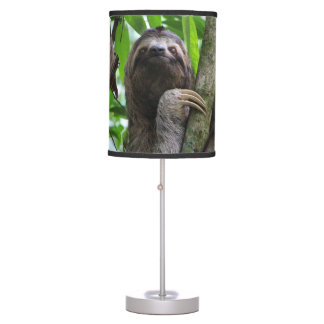 Three finger sloth table lamp