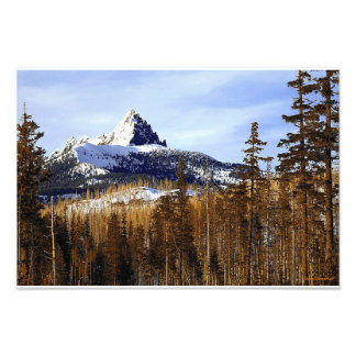 Three Fingered Jack Art Photo