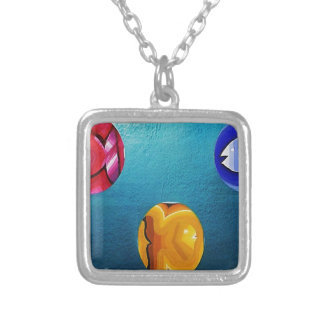 THREE FISH IN MEDIO_result.JPG Silver Plated Necklace
