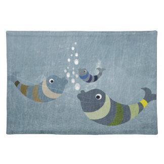 Three Fish Placemat