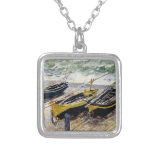 Three Fishing Boats by Monet Silver Plated Necklace