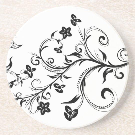 Three Floral Ornaments 2 Coaster
