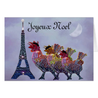 Three French Hens Cards