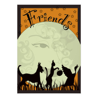 three-friends- poster