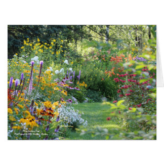 Three Gardens Meet Card