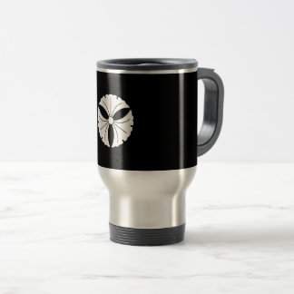 Three ginkgoes travel mug