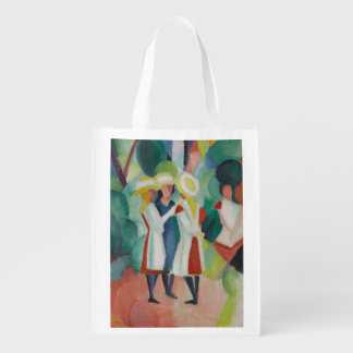 """Three Girls"" Art reusable bag"