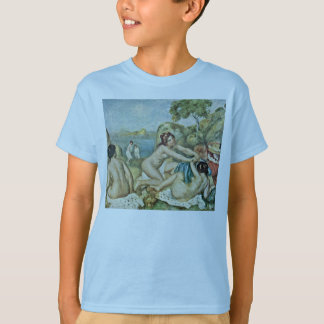 Three Girls Bathing With Crab By Pierre-Auguste Re T-Shirt