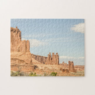 Three Gossips and Sheep Rock - Arches Puzzle