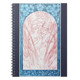 Three Graces 1901 Notebook