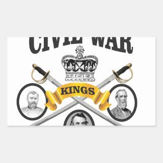 three great leaders of Civil war