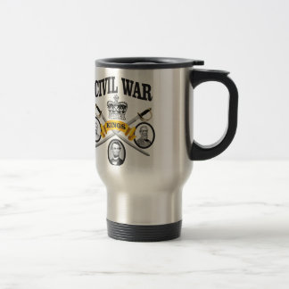 three great leaders of Civil war Travel Mug