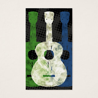 Three Guitars Business Cards