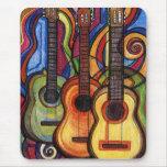 Three Guitars Mouse Pad
