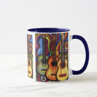 Three Guitars Mug