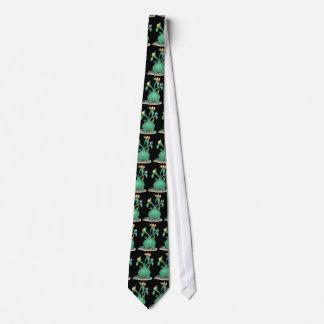 Three Headed Dragon Tie