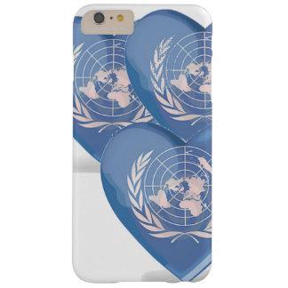 Three Hearts Unis phone case