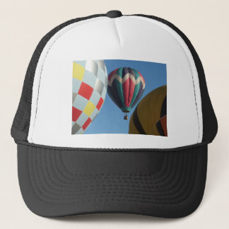 Three hot air balloons trucker hat