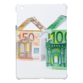 Three houses made of bank notes iPad mini cover