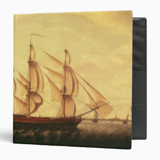 Three Hudson Bay ships in the Thames Vinyl Binder