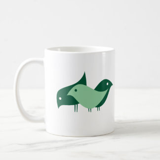 Three Imaginary Girls {birds} coffee mug