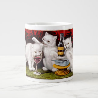 Three Jolly Kittens Jumbo Mug