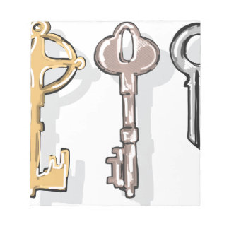 Three Keys Sketch Notepad