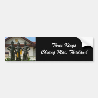 Three Kings Monument Bumper Stickers