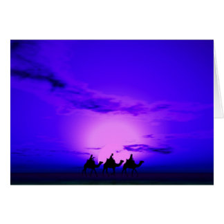 Three Kings Sunset 12 Card