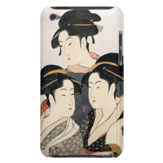 Three Known Beauties iPod Touch Case