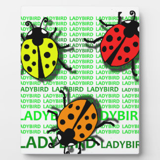 Three Ladybirds Plaque