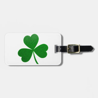 Three Leaf Clover -holiday- Luggage Tag