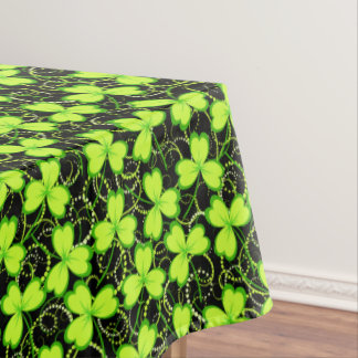 Three Leaf Clovers - Tablecloth