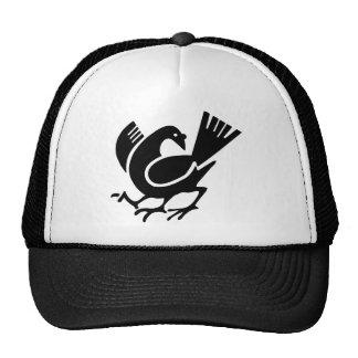 Three Legged Crow Trucker Hat