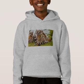three lemurs on Hanes ComfortBlend® Hoodie