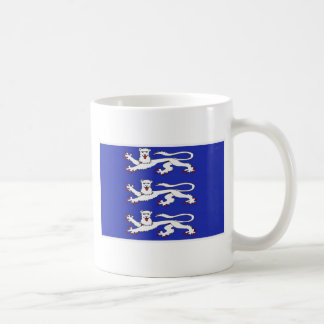 Three Lions of England Basic White Mug
