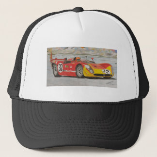 Three Liters and Red Paint Trucker Hat