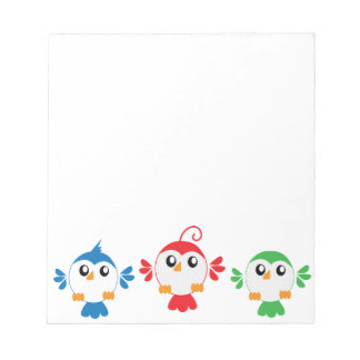 Three Little Birds Notepad