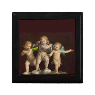 Three Little Cherubs or Angels Gift Box